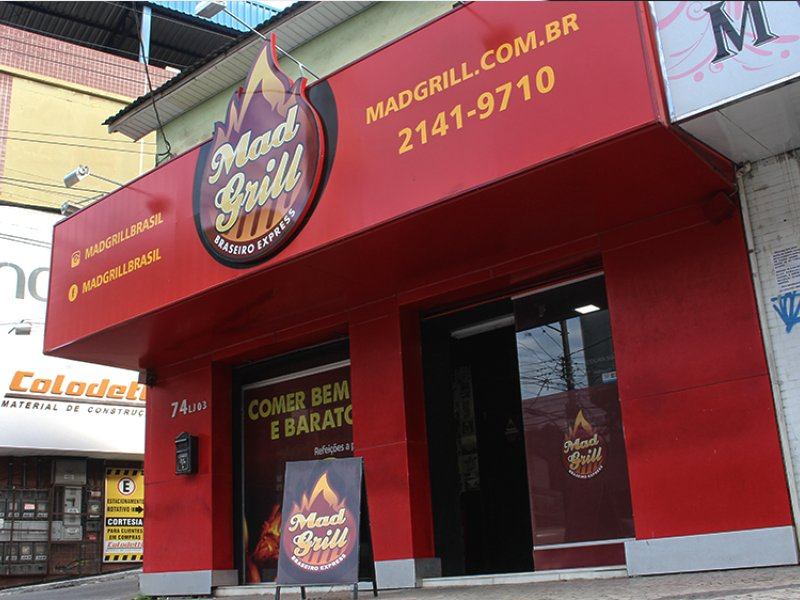 Mad Grill Braseiro Express