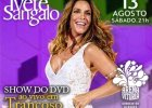 Ivete Sangalo lan�a turn� do novo DVD em Vit�ria